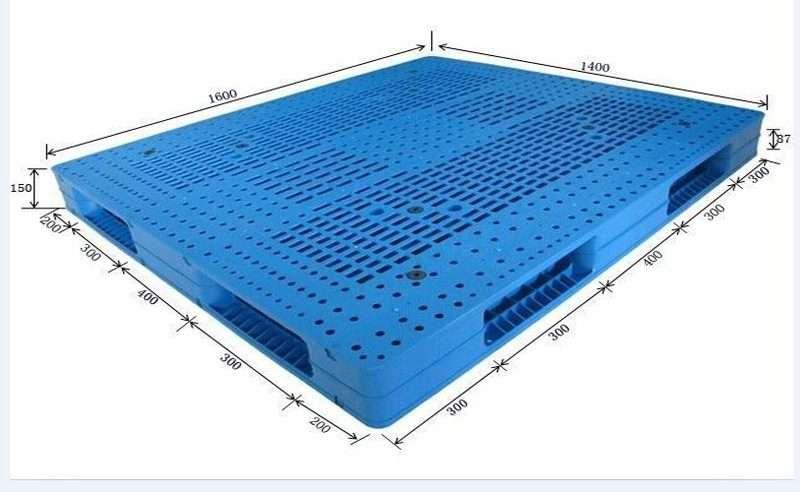 plastic pallets 140x160 cm
