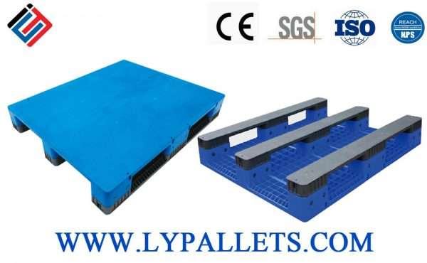 Flat Assembled plastic pallets