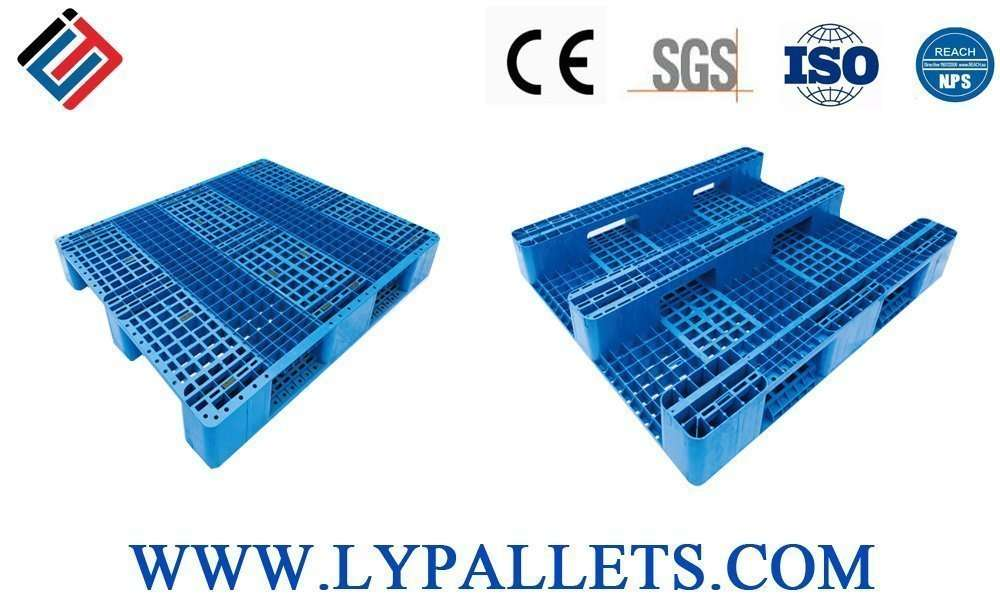 Durable Plastic pallets for warehouse and racking systems