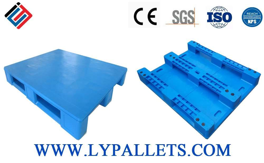 Hygienic totally smooth surface easy washing plastic pallets