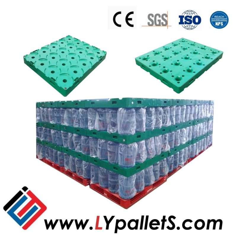 bottled water plastic rack