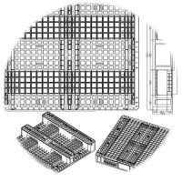 Plastic pallets molds customized