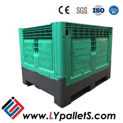 Collapsible Plastic Pallets Box for vegetables and fruit