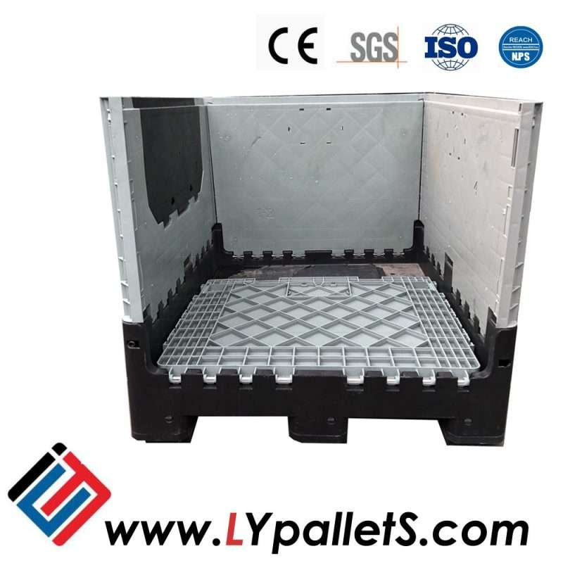 plastic collapsible pallets boxes