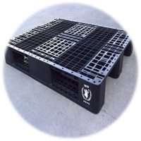 balck plastic pallets