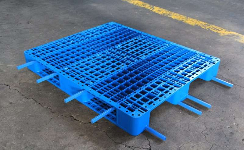 Steel bars reinforcement plastic pallets