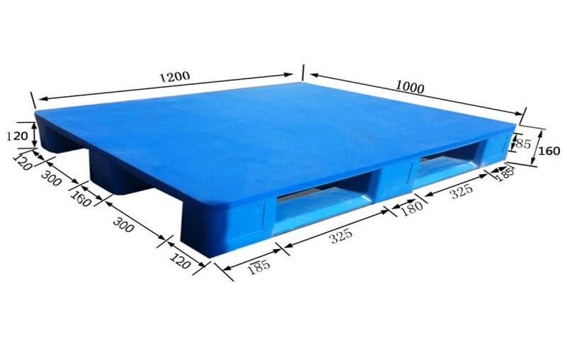 hygienic plastic pallets 1200x1000