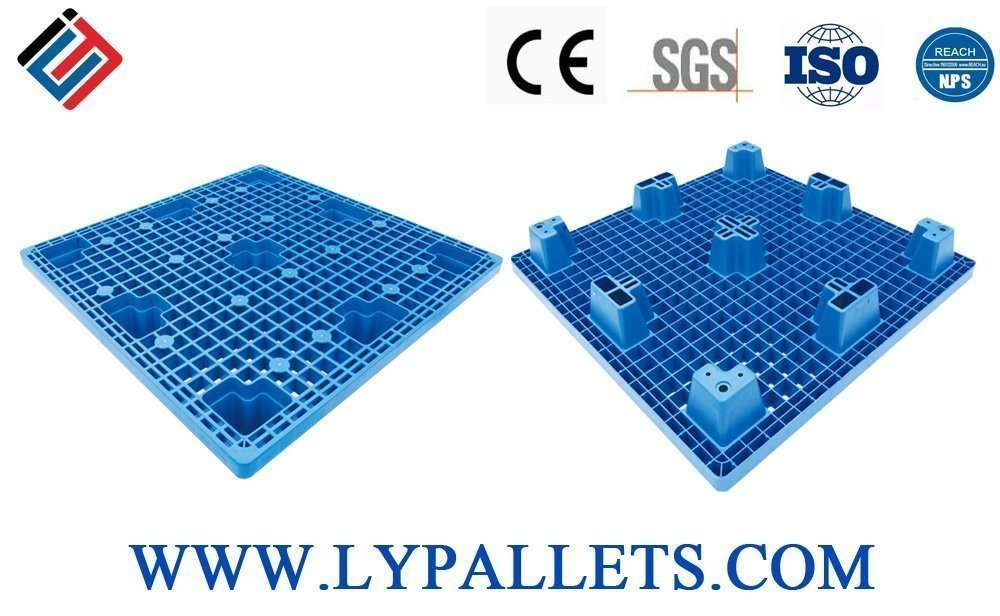 Light duty nest able plastic pallets from china
