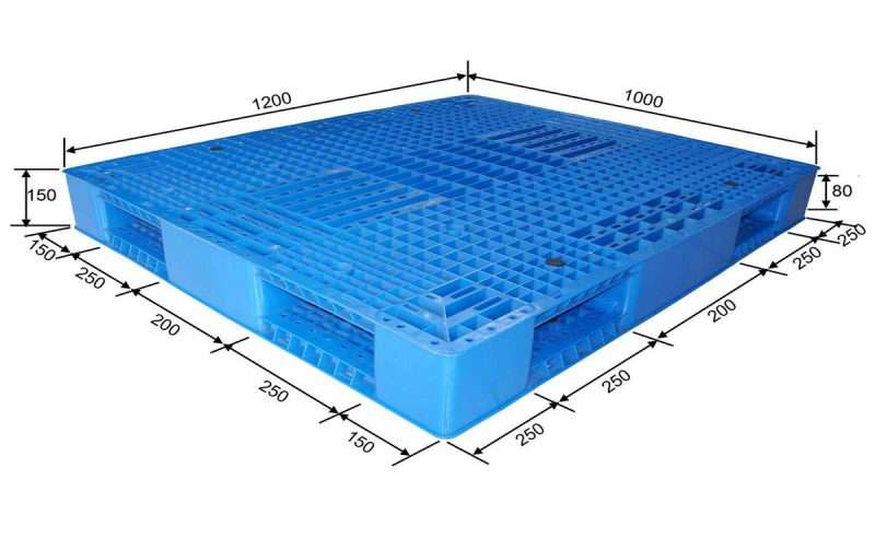 Reversible plastic pallets mesh surface from china