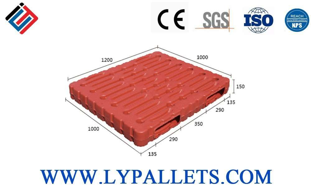 molds plastic pallets with dimension 1200x1000 mm