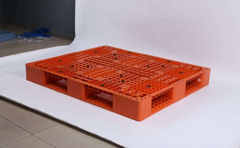 plastic pallets 1200mm x1200mm for double deep rack
