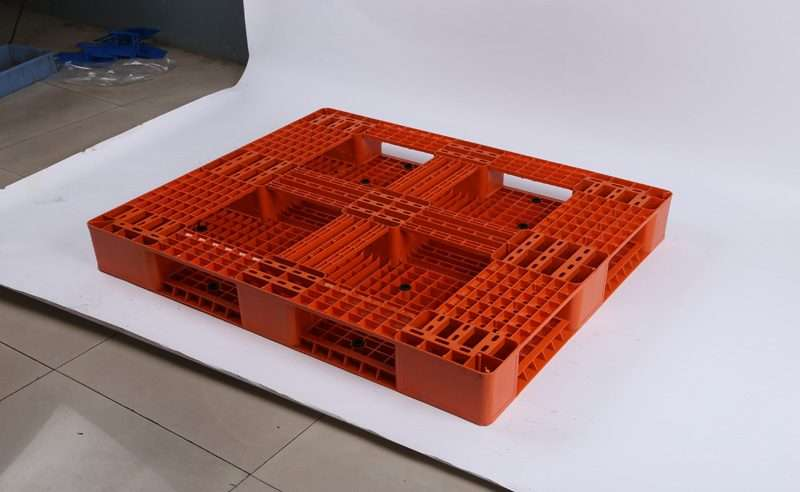 plastic pallets 1200x1200 for double deep rack