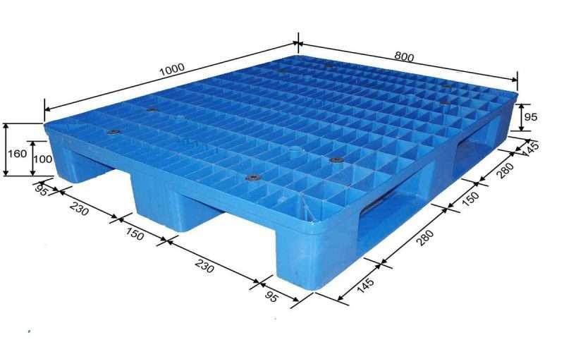 80x100 cm plastic pallets