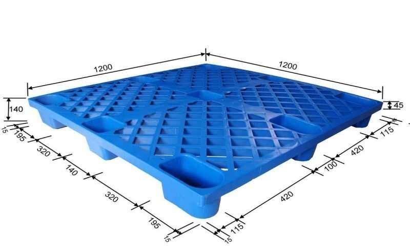 NESTABLE PLASTIC PALLETS 120x120