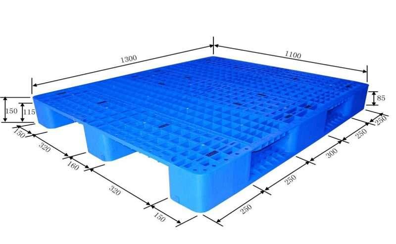 PLASTIC PALLETS 110x130 grid top
