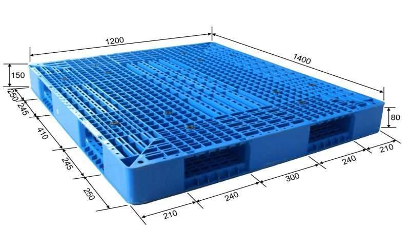 PLASTIC PALLETS 120x140 cm made in china
