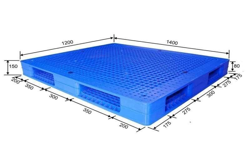 PLASTIC PALLETS 120x140 reversible