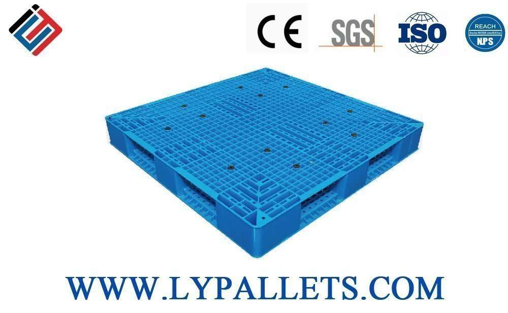PLASTIC PALLETS DOUBLE FACED 1212A