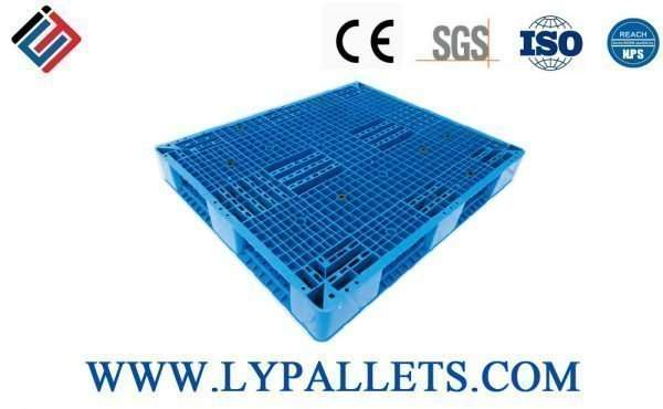 PLASTIC PALLETS DOUBLE FACED 1411