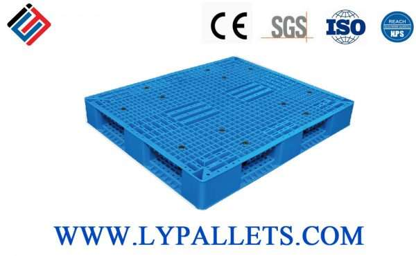 PLASTIC PALLETS DOUBLE FACED 1412A