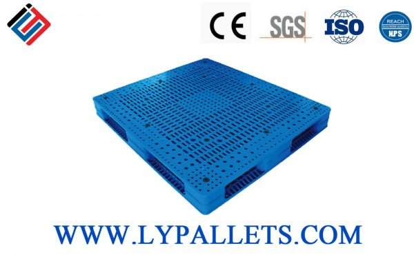 PLASTIC PALLETS DOUBLE FACED 1412C