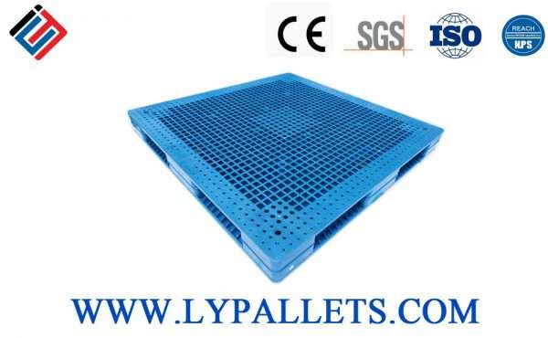 PLASTIC PALLETS DOUBLE FACED 1515