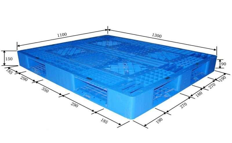 PLASTIC PALLETS perimeter 110x130