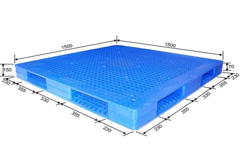 PLASTIC PALLETS reversible 1,5 x 1,5