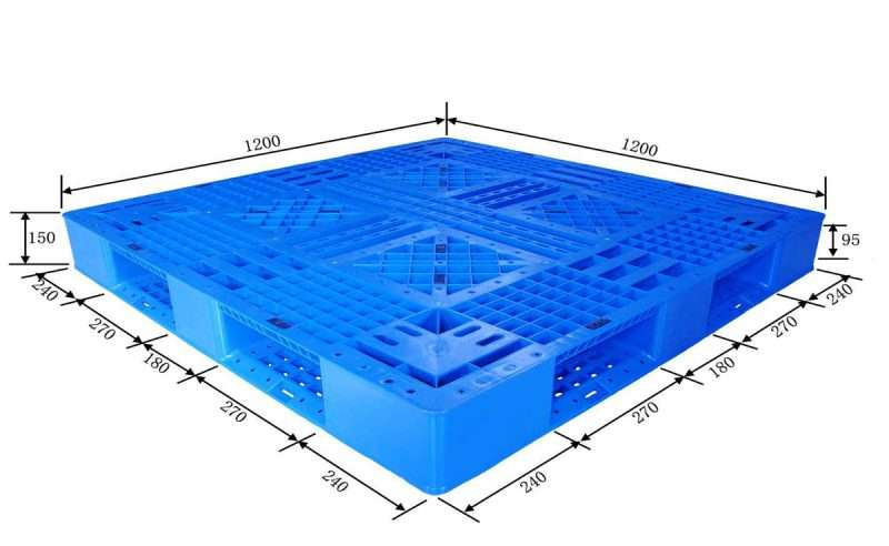 Perimeter PLASTIC PALLETS 1200x1200