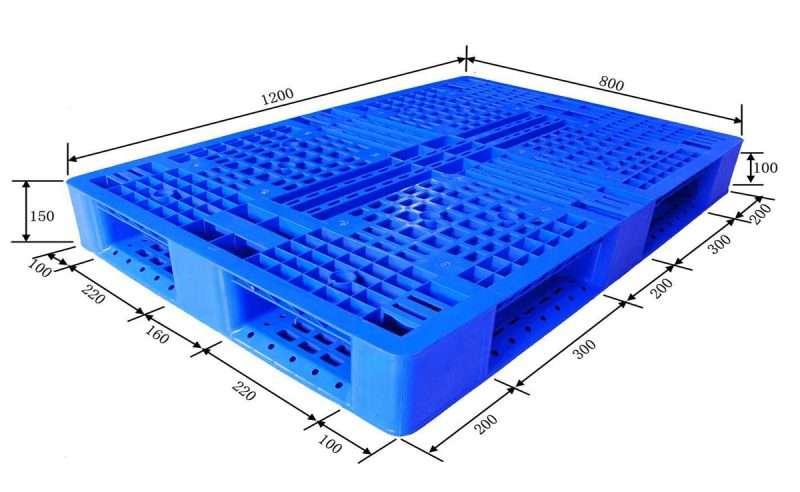Perimter base PLASTIC PALLETS 80x120 cm