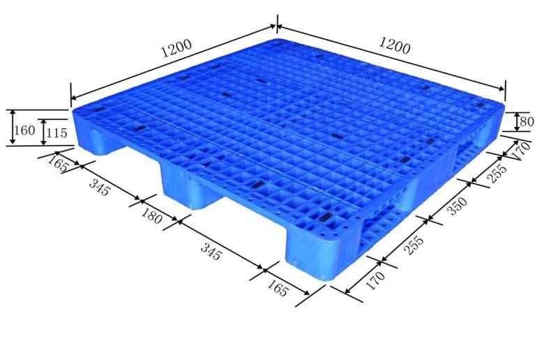 Rack able plastic pallets 1200x1200
