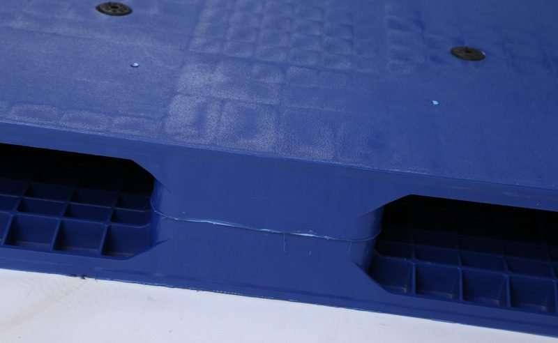 Reversible plastic pallets 110x120