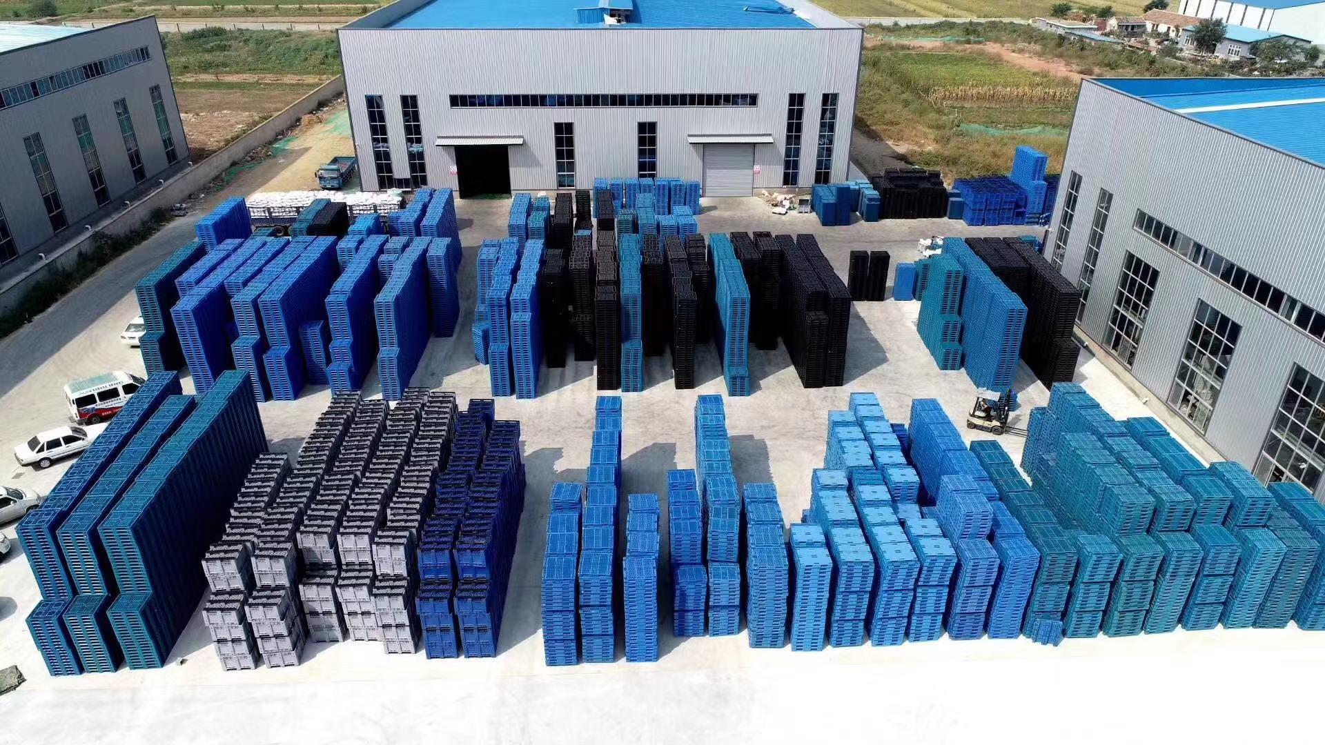 Plastic pallets factory -LYpallets